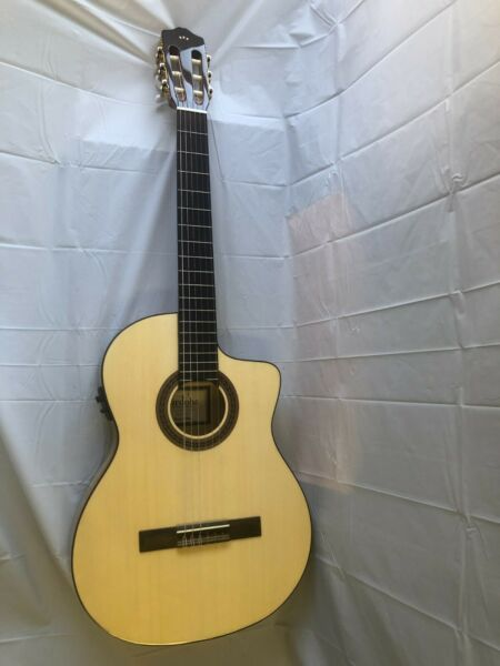 Cordoba C5 CET Spalted Maple Limited Acoustic Electric Guitar