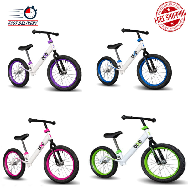 HOT NEW Bixe 16quot; Pro Balance Bike for for Big Kids 5 9 Years Old Multi Colors $93.99