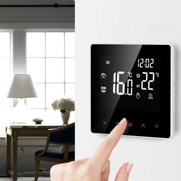 Home Smart Thermostat Programmable Electric Floor Heat Temperature Controll P9D7 $32.87