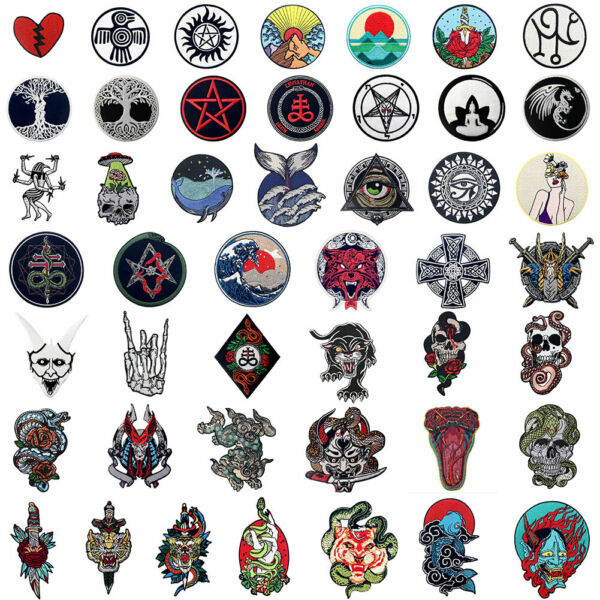 New Iron On patch Lots Embroidered Patches for jeans Appliques clothes Love Gift $3.39