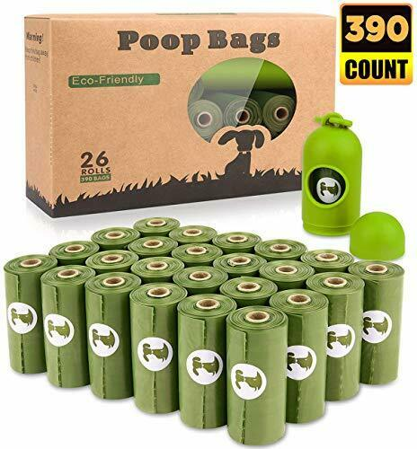 BOTEWO Dog Poop Bag 26 Rolls 390 Counts Biodegradable Dog Waste Bags With 1 F... $23.98