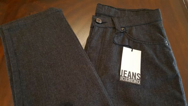 Iceberg Gilmar New With Tags Womens Grey Skinny Jeans Made in Italy Sz. 28 $19.00