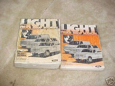 1982 Ford Light Truck Shop manual set