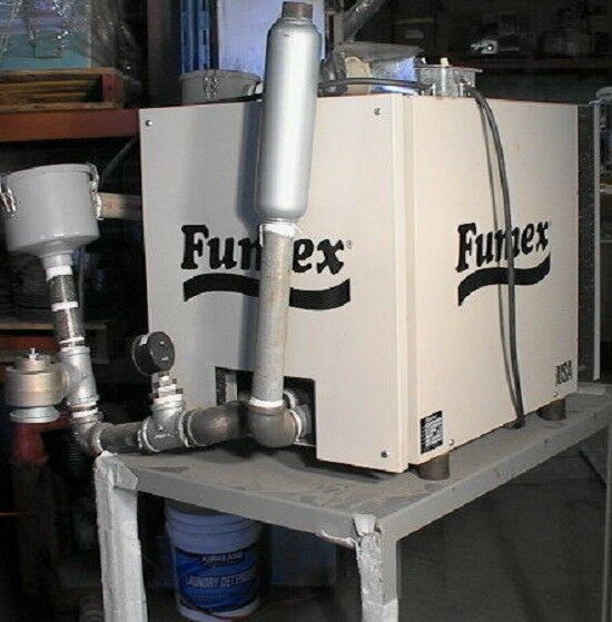 Large Fumex F15 Solder Welding Fume Extractor + add-ons