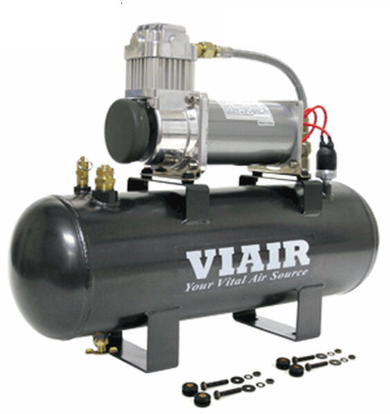 VIAIR 20007 380C COMPRESSOR 200 PSI 2 Gal.12v.On Board for Air Tools Horns Bags