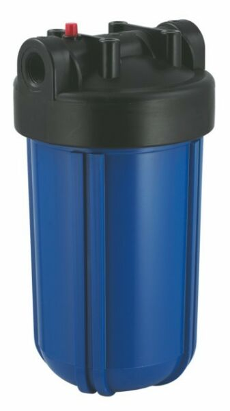 10quot; Big Blue Water Filter Housing Canister Sump 1quot; NPT Pressure Relief Button