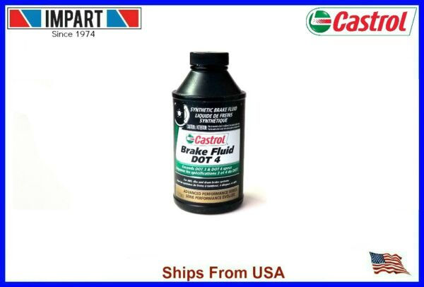 Castrol GT LMA Brake Fluid DOT 4 (1) 12oz. Bottle