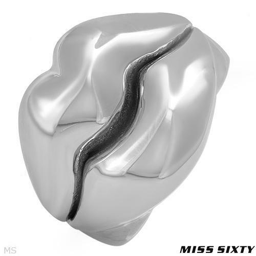 MISS SIXTY Made in Italy Dazzling Ring in Stainless steel. $ 109.00
