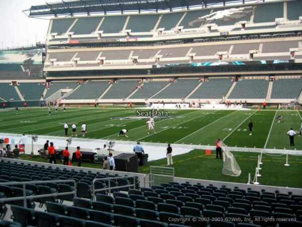 4 PHILADELPHIA EAGLES SBL PSL SEASON TICKETS RIGHTS sec 103 row 1 AISLE