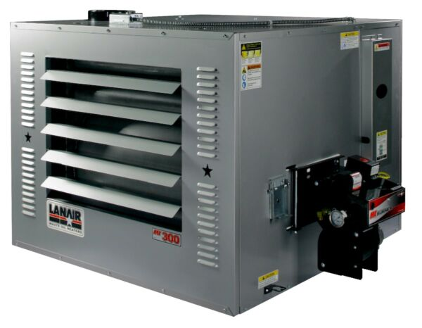 Waste Oil HeaterFurnace Lanair MX300 heater only w pump and filters FREE SHIP!