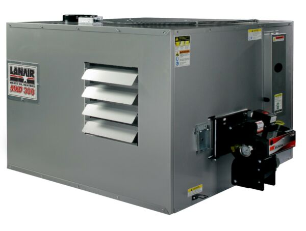Waste Oil HeaterFurnace Lanair MXD300 DUCTABLE with tank and chimney kit SALE!!