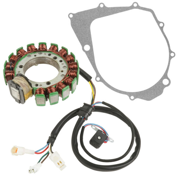 Stator amp; Gasket for Yamaha Warrior 350 YFM350 1996 1997 1998 1999 2000 2001 $36.85