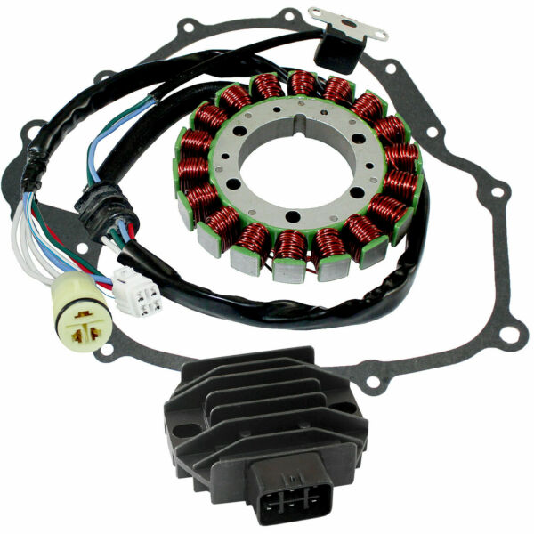 Stator amp; Regulator Rectifier for Yamaha Rhino 660 YXR660 2004 2007 With Gasket $55.85