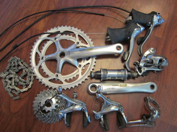 SHIMANO 105 5500 GROUP GROUPPO COMPLETE BUILD KIT 9 SPEED 175 STANDARD DOUBLE