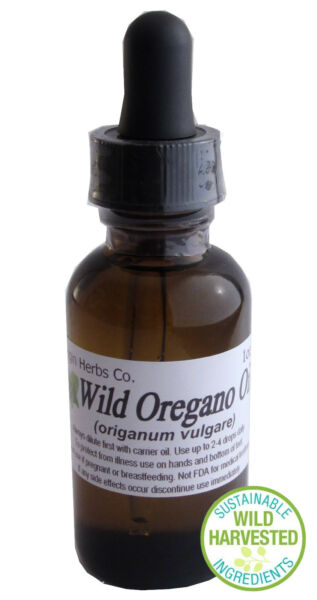 1oz WILD HARVESTED Oregano Essential Oil Origanum Vulgare Natural  6,000+ SOLD!!