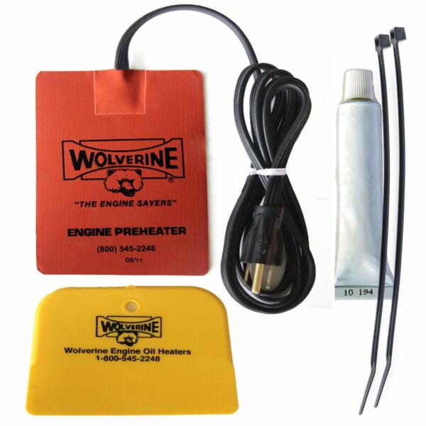 Wolverine 40-120V Engine Heater Oil Pan Tank Heater 500 Watt Model 40 120 Volt
