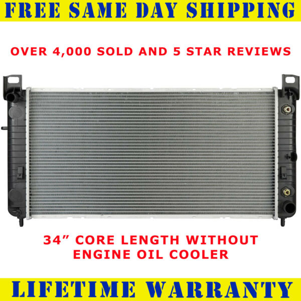 Radiator For Chevy Silverado 2500 1500 Cadillac Escalade 6.0 5.3 2423