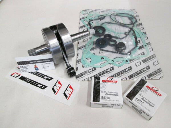 Suzuki RM 125 Wiseco Crankshaft Kit Bottom End Rebuild WPC121 2001-2003