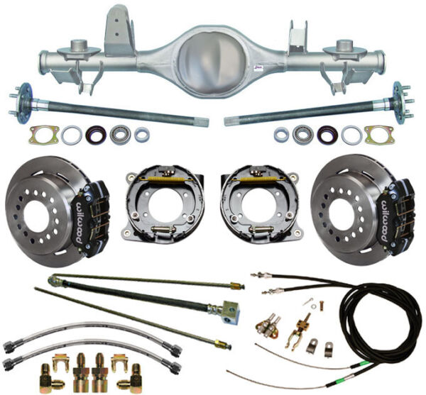 CURRIE REAR END & WILWOOD DISC BRAKESLINESCABLES FOR 97-06 JEEP WRANGLER TJ