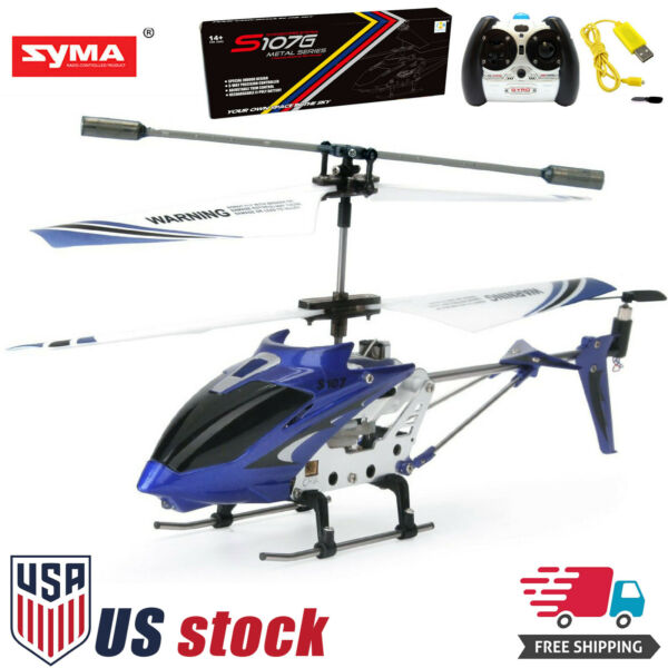 Syma S107G Mini Remote Control RC Helicopter 3.5CH Alloy Copter with Gyro