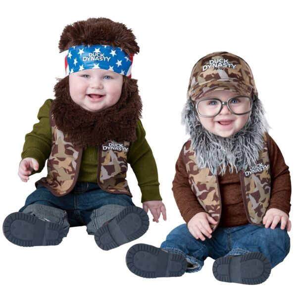 Duck Dynasty Baby Costume Funny Halloween Fancy Dress