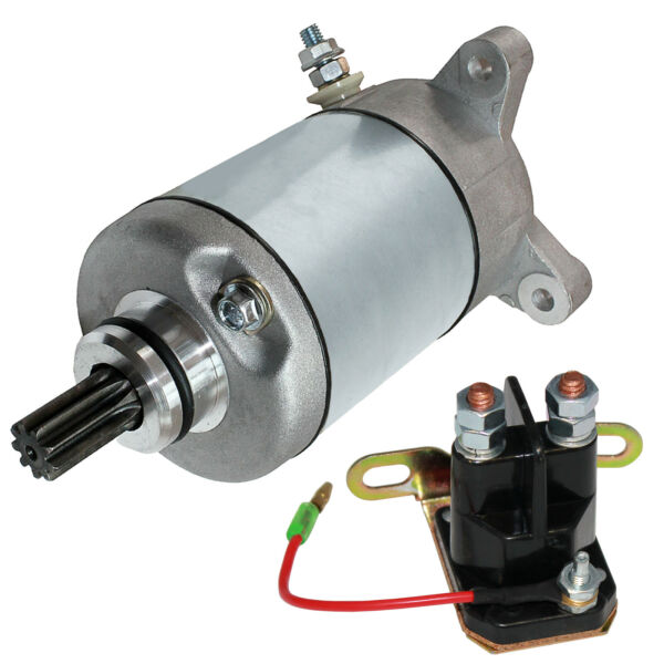 Starter & Relay Solenoid for Polaris Sportsman 500 1996 1997 1998-2000 2002 2004
