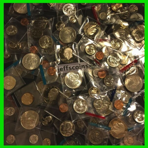ESTATE SALE LOT OLD US PROOF and UNCIRCULATED COINS ✯ SILVER GOLD ✯ UNC ✯