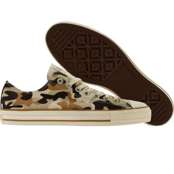 $75 Converse All Star limited edition OX desert camo fashion sneakers