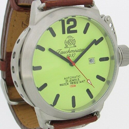 German U-Boot DATE AUTOMATIC crown protectionsystem T0131