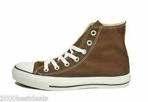 Converse Chuck Taylor All Star High Top Canvas Men Shoes 1P626 - Chocolate Brown