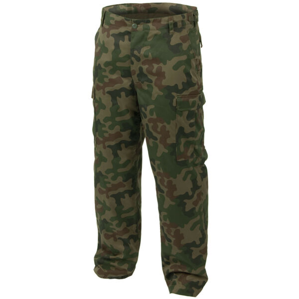 Ranger Combat Work Wear Casual Mens Trousers Pants Polish Woodland Camo S-3XL
