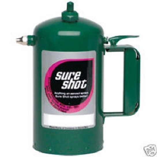 Sure Shot Sprayer A1000G Green Sprayer Steel Canister Powder Coated 32oz $41.79
