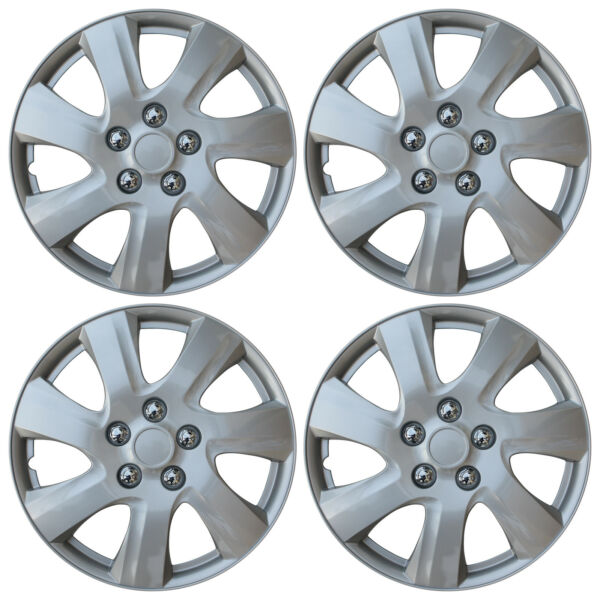 NEW SET of 4 Hub Caps Fits TOYOTA CAMRY 15