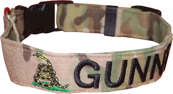 TACTICAL Dog Collars Personalized Embroidered Customized for your Pet $32.99