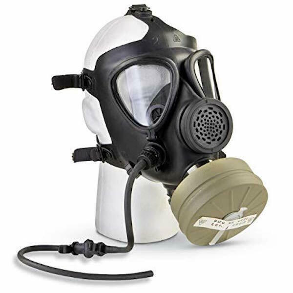Israeli M15 Gas Mask with Standard 40mm Filter Unused emergency survival prep $87.99