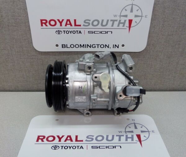 Toyota Yaris Air Conditioning Compressor & Clutch Genuine OE OEM