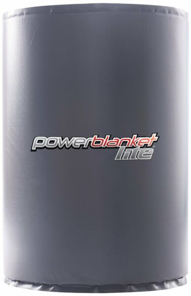 Powerblanket Lite PBL55F - 55 Gallon  208 Liter - Full Coverage Drum Heater