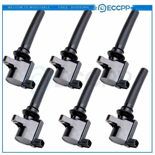PACK OF 6 NEW Ignition Coil for Ford Mercury Mazda 3.0 V6 DG513 DG500 FD502
