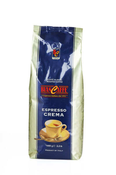 Biancaffe Espresso Bar Blu Coffee Whole Beans 22.0462Pound
