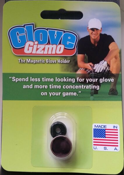 Golf Glove Gizmo - The Magnetic Golf Glove Holder