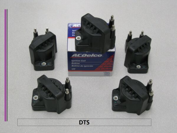Set of 5 New AC Delco Igntion Coil D555DR3910472401