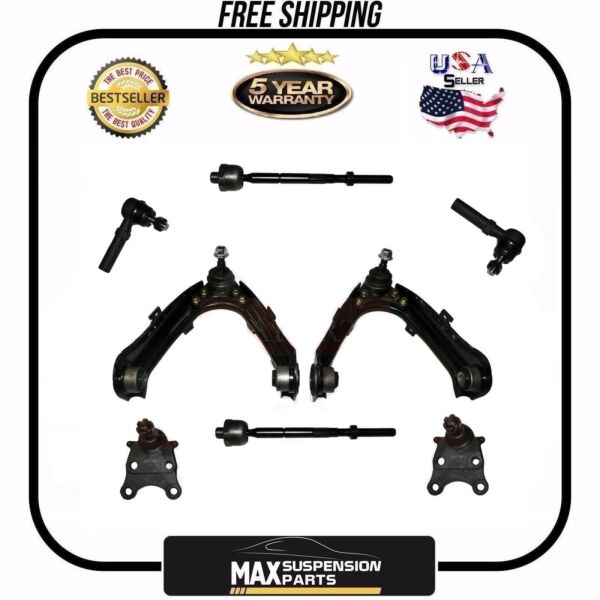 Chevrolet Colorado Front Suspension Steering Kit Tie Rod Ends Ball Joints