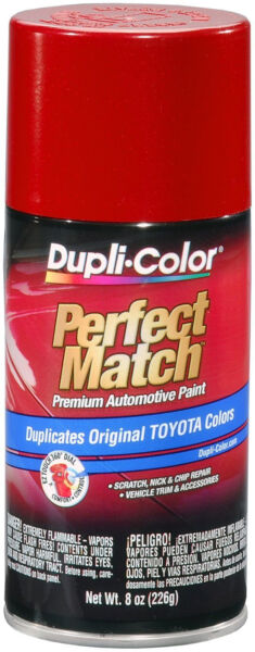 DUPLI-COLOR® BTY1618 Barcelona Red Metallic Toyota  Auto Paint 8oz