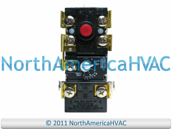 Electric Water Heater Single Thermostat Limit Switch Camco 07863 $14.95