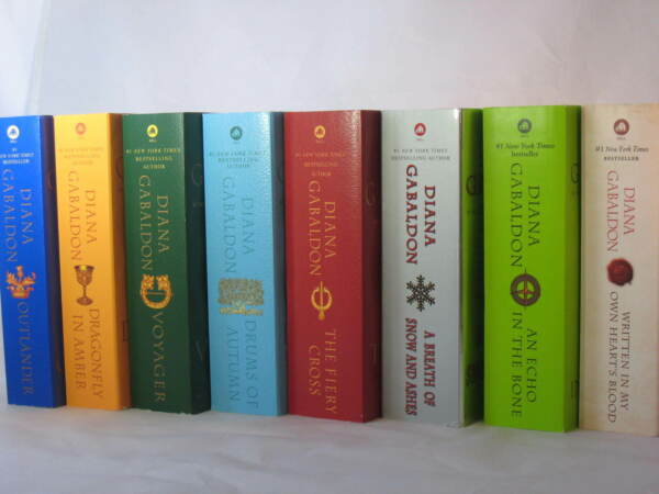 Outlander Series #1-8: Books by Diana Gabaldon (Mass Market Paperbacks 7x4)
