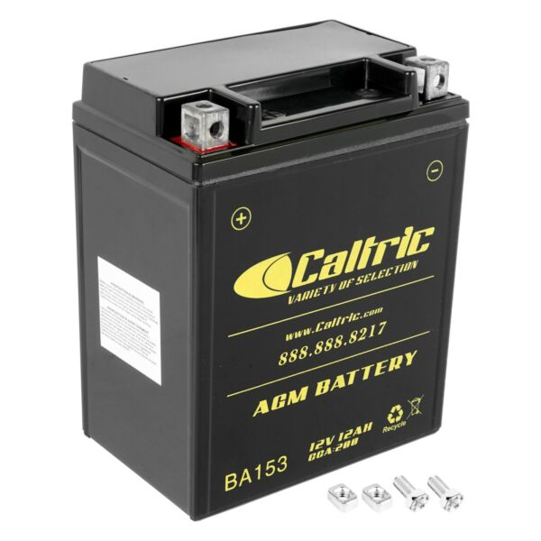 AGM Battery for Polaris Sportsman 400 4X4 1993 1996 2001 2002 2003 2004
