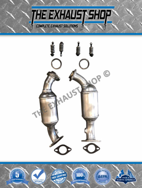 2004-2007 Cadillac CTS 2.8L/3.6L RIGHT & LEFT Catalytic Converters Direct-Fit