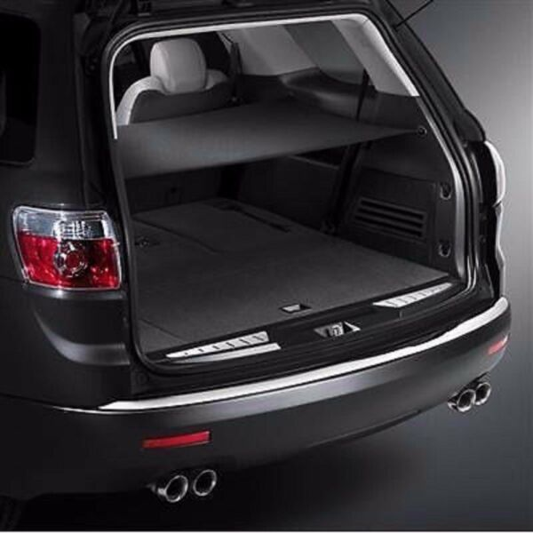 TRUNK SECURITY CARGO AREA SHADE COVER EBONY FOR ACADIA ENCLAVE TRAVERSE OUTLOOK