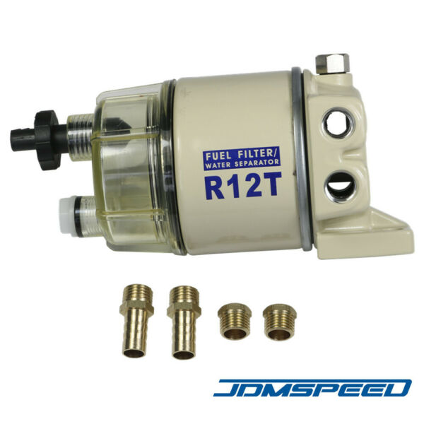 NEW R12T FOR MARINE SPIN ON FUEL FILTER WATER SEPARATOR 120AT $22.99