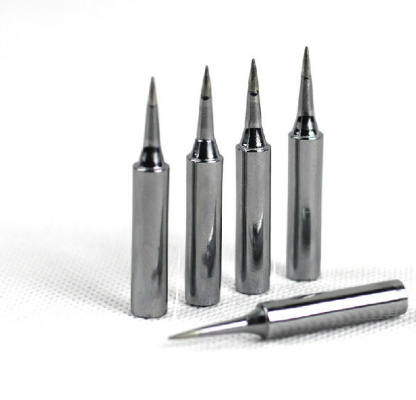 5PCs YIHUA 900M Quality Soldering Iron tips 936 station all shapes SGS RoHS